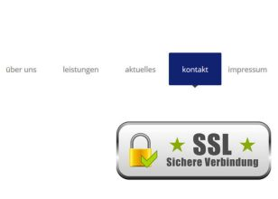 Marketing & Webdesign | Grafik SSL-Zertifikat