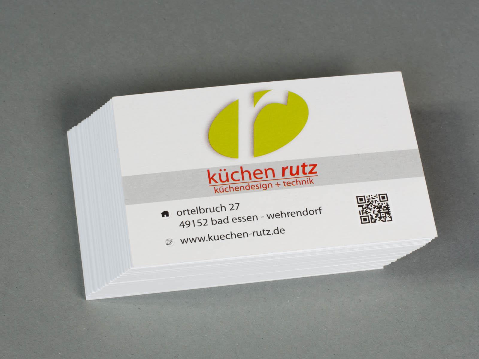 Gestaltung Von Visitenkarten Marketing Und Webdesign