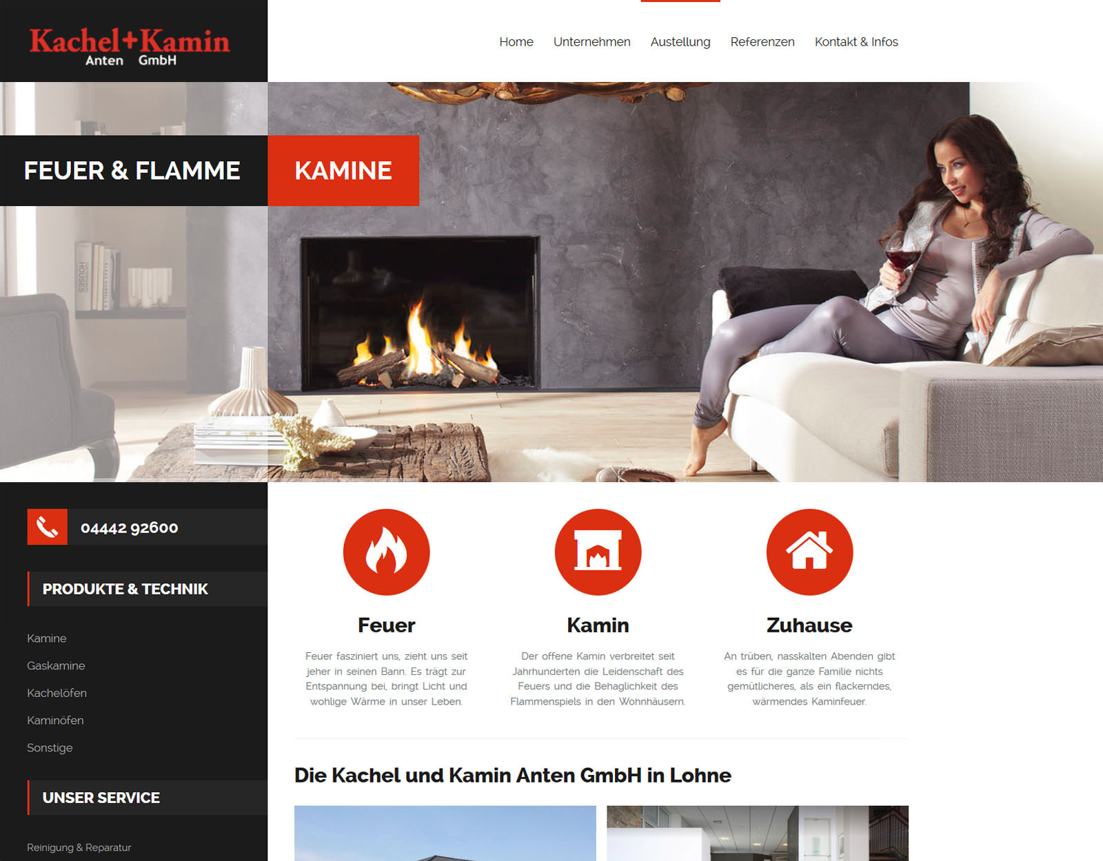 Marketing & Webdesign | Referenz Kachel+Kamin