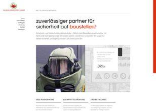 Unternehmen - Präsentation - Screnshot website Heinrich Tepe