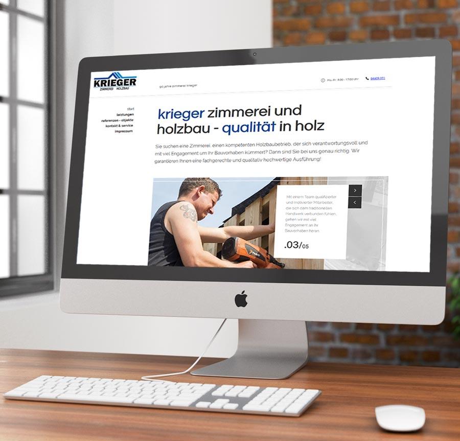 Kunden Homepage Zimmerei
