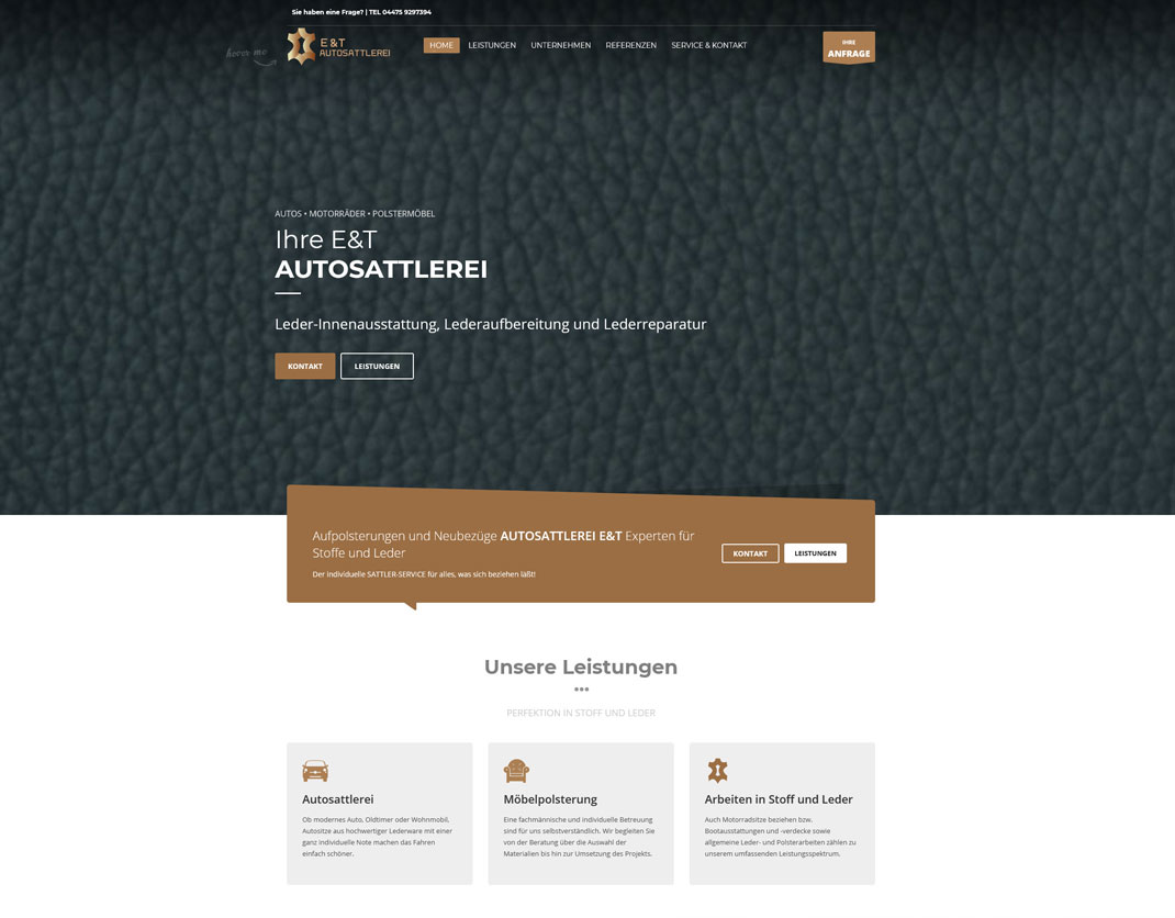 Wordpress One-Page Website