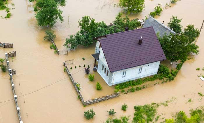Spende für Hochwasseropfer