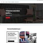 Website Polsterei Buddelmeyer